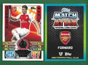 Arsenal Olivier Giroud France 36 Super Striker